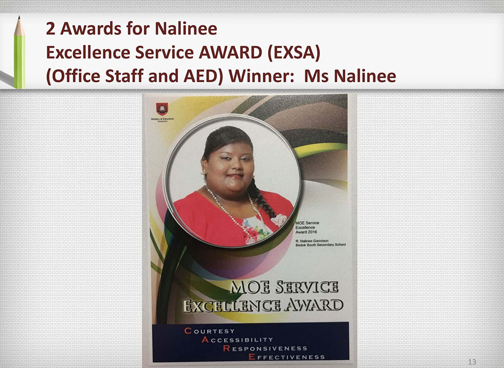 2017 Recognition Ms Nalinee