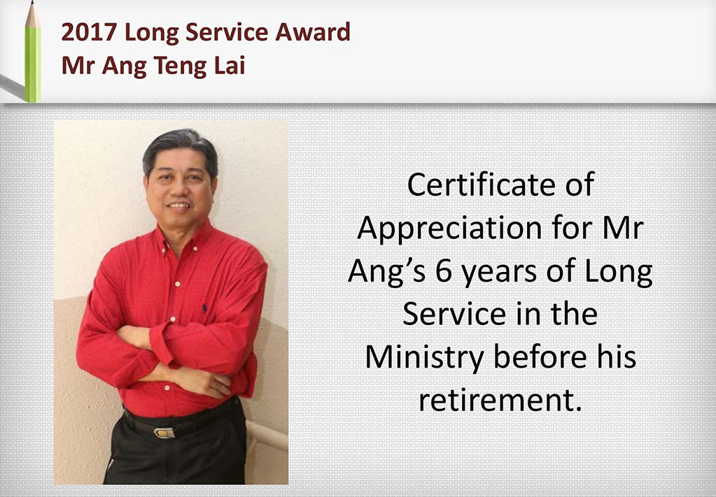 2017 Recognition Mr Ang Teng Lai