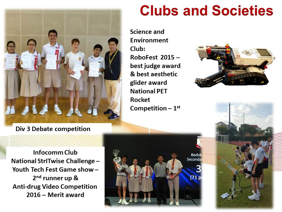 CCA Clubs and Societies