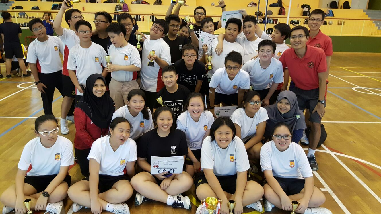Bedok Challenge- fun time playing in the competitions